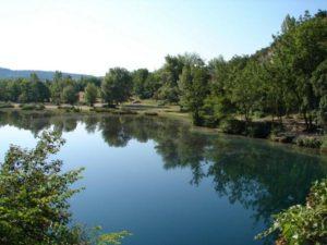 lac de Quinson sur Verdon