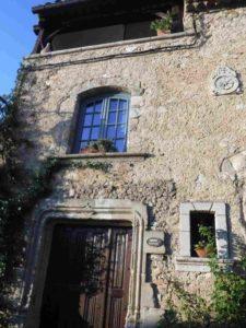 Maison en pierre de Tourtour