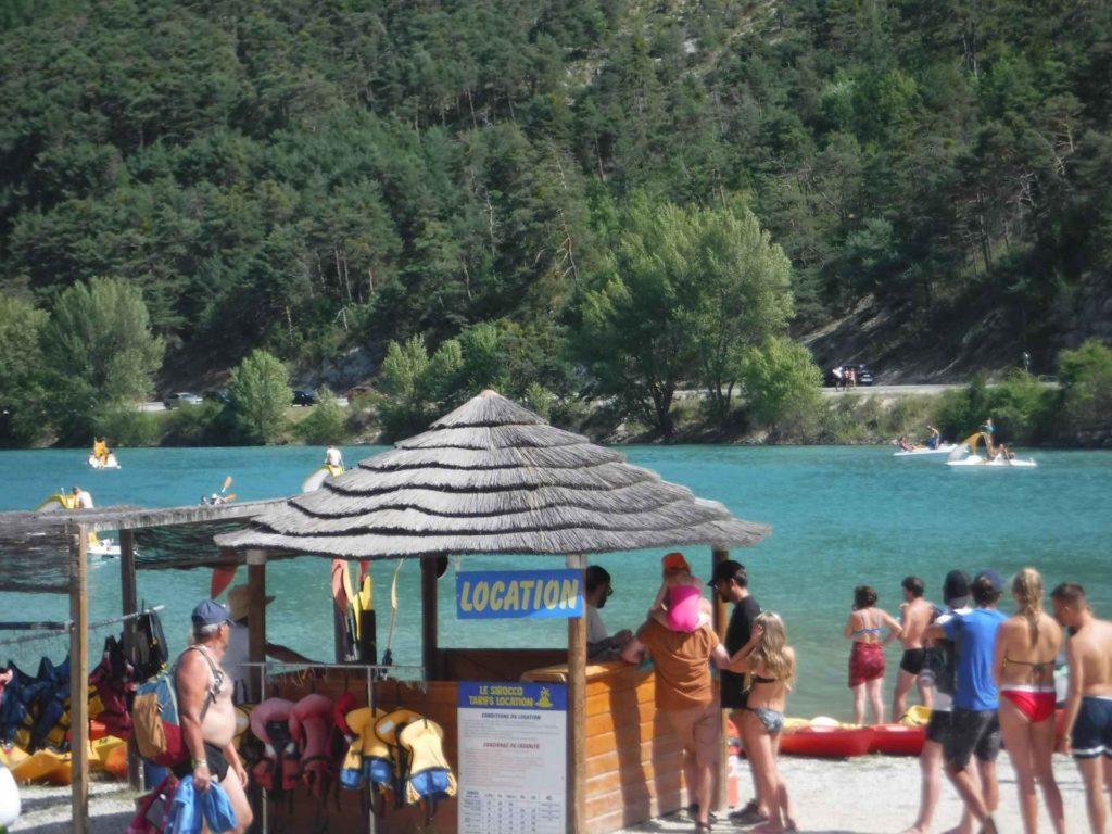 Cheiron Bay Lac de Castillon