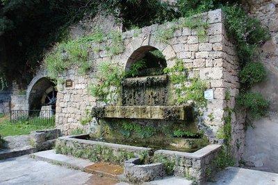 Barjols, la cascade du Réal