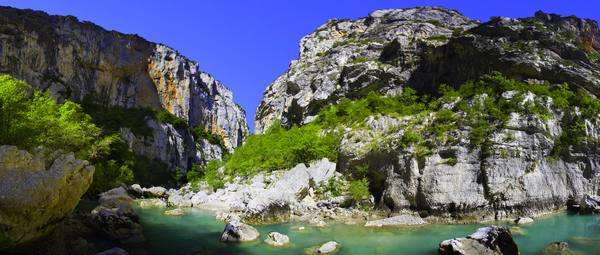 canyoning in the gorges of the Verdon