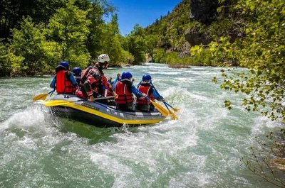 River Rafting near Castellane, Verdon Gorges