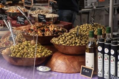 Les olives et l'huile de Cotignac