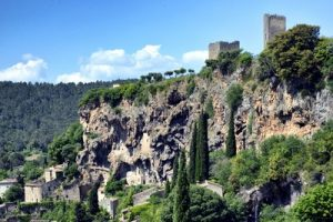 Cotignac et le Rocher