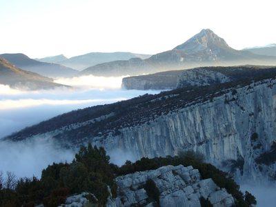 En plein Verdon, les falaises favorites d'Edlinger