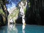 Gorges of Baudinard in the lower Verdon