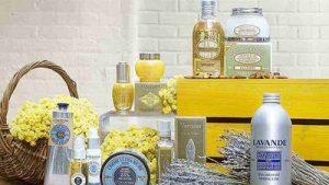 L'Occitane, produits de beauté