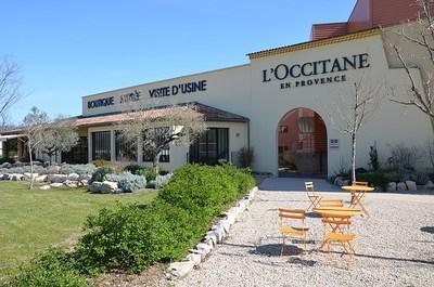 L'usine de l'Occitane à Manosque