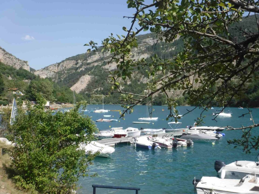 Port de Saint-julien du Verdon