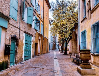 rue pavée Manosque