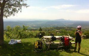 Vue panoramique depuis Tourtour