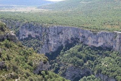 Le Grand Canyon du Verdon près d'Aiguines