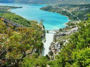 Montagnac-Montpezat et le lac de Sainte-Croix