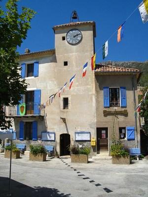 La mairie de Rougon