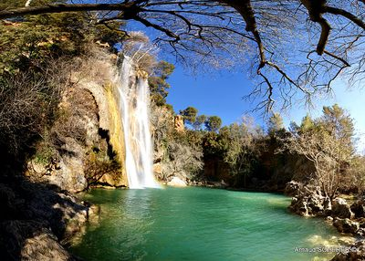 La grande cascade de Sillans-la-Cascade
