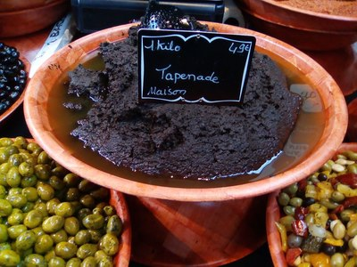 Tapenade at the market