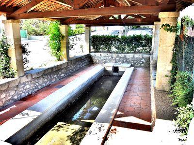 Un lavoir à Vinon-sur-Verdon