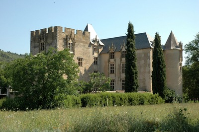 Le Parc et le Château d'Allemagne-en-Provence