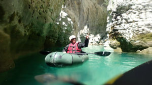 Packraft Verdon avec Secret River