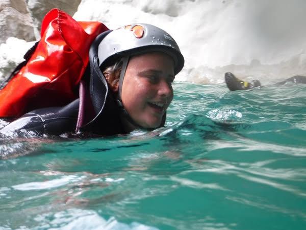 Randonnée aquatique dans les gorges du Verdon
