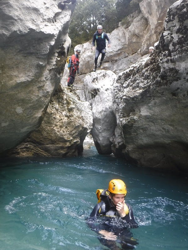 Canyoning in the Verdon