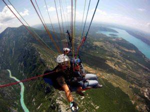 Paragliding Verdon Gorges