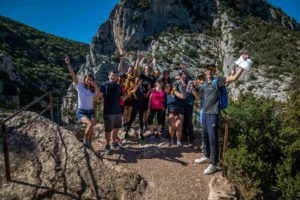 team-building dans les gorges du Verdon