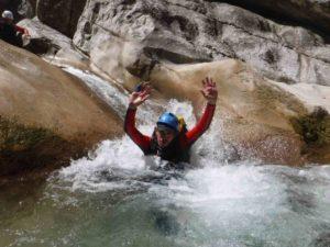 Mathias guide de canyon saint auban