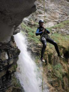 canyon de la Lance à Colmars les Alpes