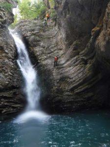 Cascade de La Lance Haut Verdon