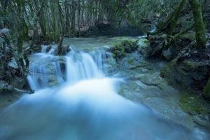 Toboggan cascade