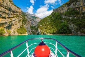 bateau electrique lac sainte-croix
