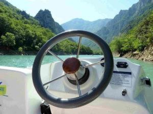 bateau gorges verdon