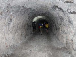 Tunnels du sentier Martel
