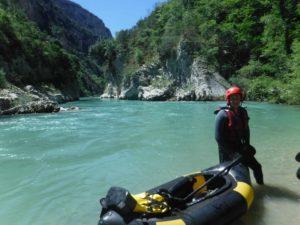Rafting Packraft sur le Verdon