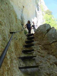 Escalier Imbut Verdon