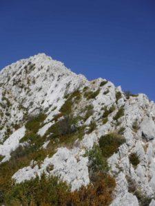 Arrête ouest du Mont Robion, une randonnée difficile