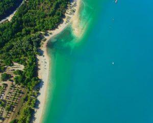 Lac Sainte-Croix en ULM