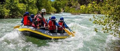 Rafting près de Castellane